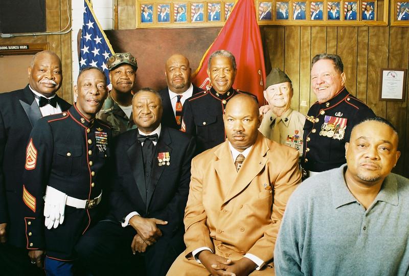 Marine Anniversity Ceremony