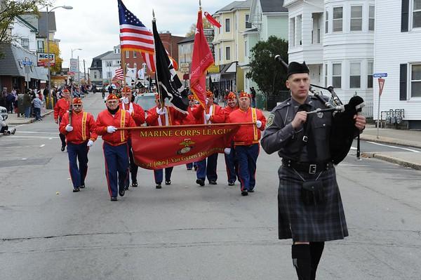 2009 Veteran's Day Parade  Fall River Ma.