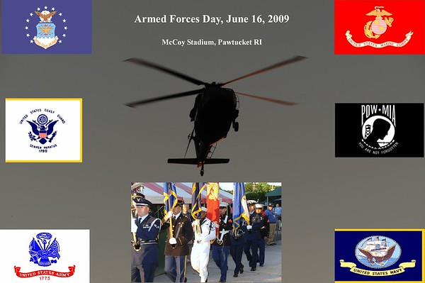 Armed Forces Day at McCoy Stadium 6-16-09