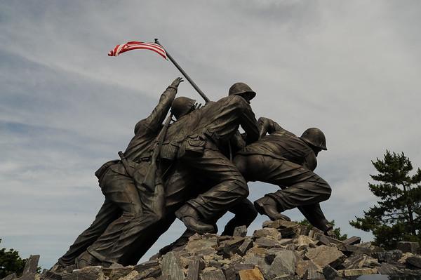 Iwo Jima Dedication, Fall River Ma. 7-4-10