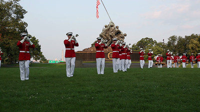 Marine Drum and Bugle Corps plays selections from Motown 2