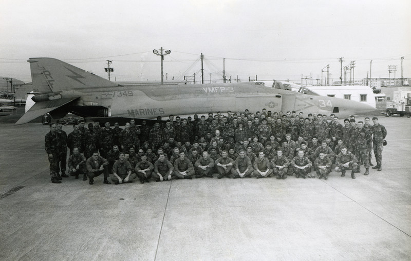 Detachment Bravo. Squadron Photo.