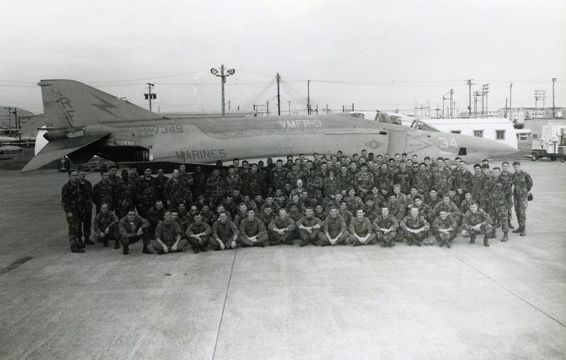 Detachment Bravo. Squadron Photo.