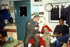 Maj Gildersleeve and Santa (yours Truly).