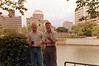Me and Rusty Brasher across the river from A-Bomb Dome. Hiroshima, Japan.