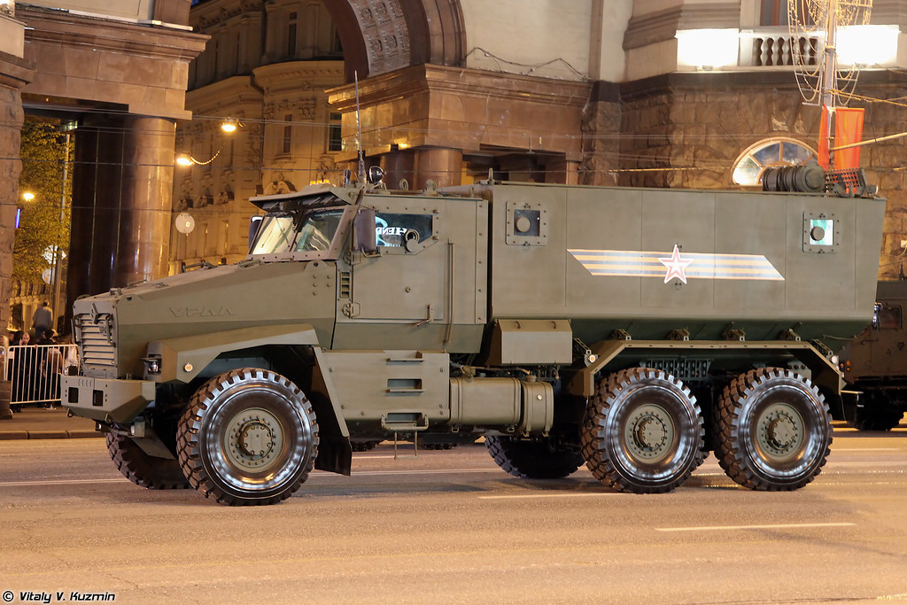 Тайфун-У (Typhoon-U MRAP vehicle)
