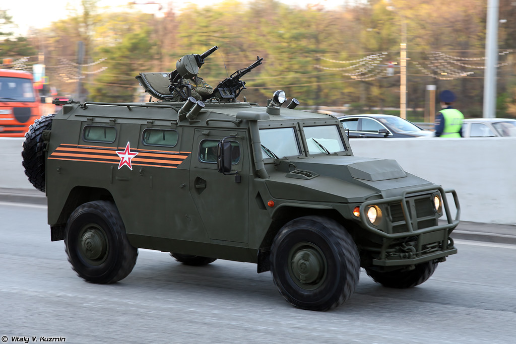 АCН 233115 Тигр-М СПН (ASN 233115 Tigr-M SPN armored vehicle)