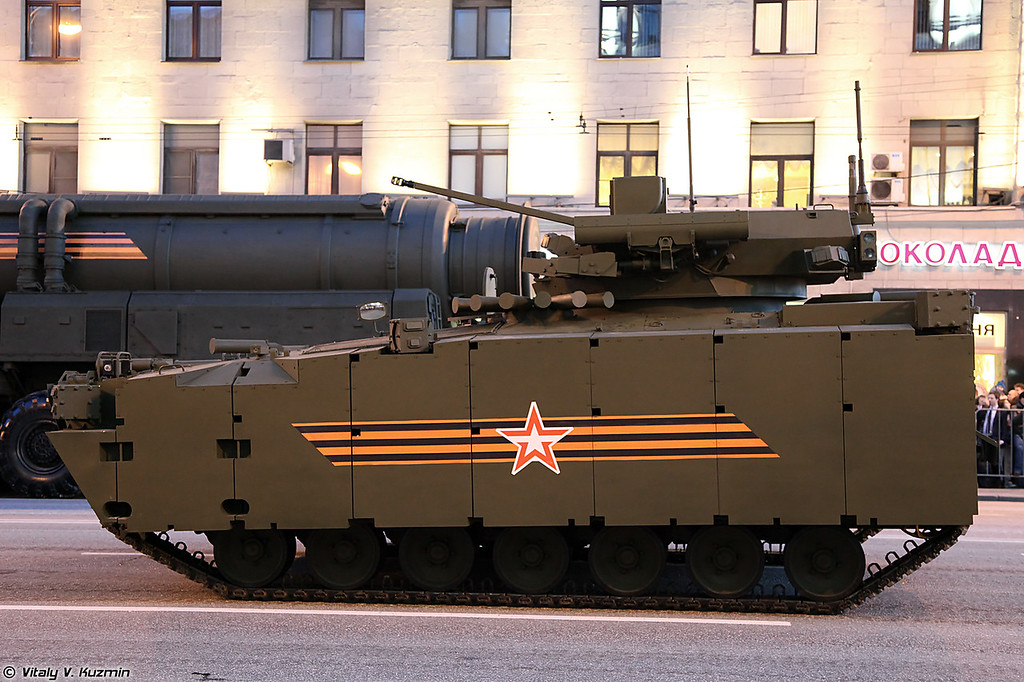 БМП объект 695 на Курганец-25 (IFV object 695 on Kurganets-25 platform)