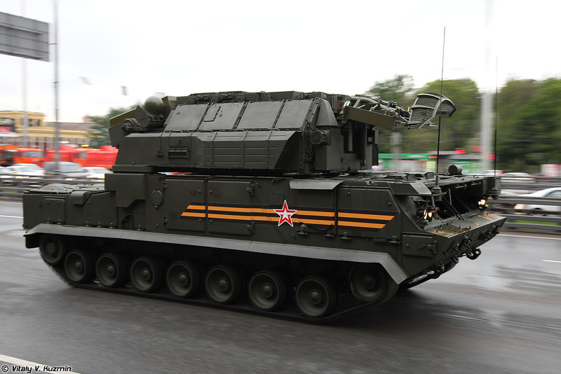ЗРК Тор-М2У (Tor-M2U air defence missile system)