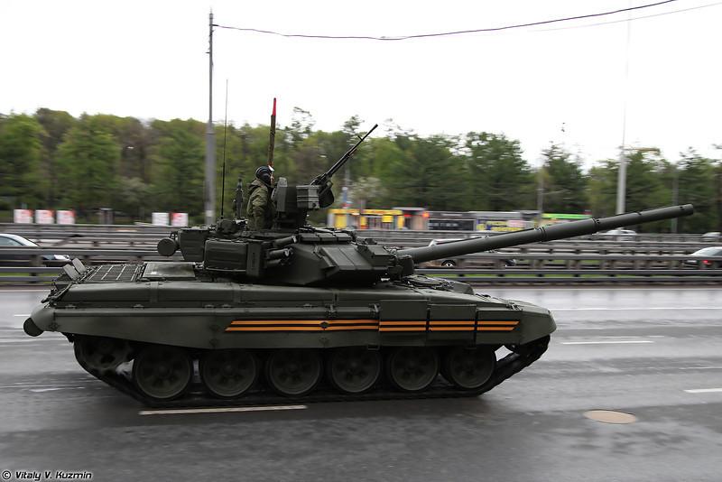 Основной боевой танк Т-90А (T-90A main battle tank)