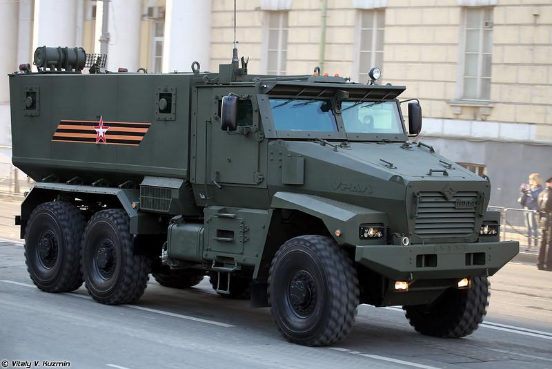 Урал-63095 Тайфун-У (Ural-63095 Typhoon-U)