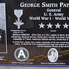 Actual Plaque to General George Patton