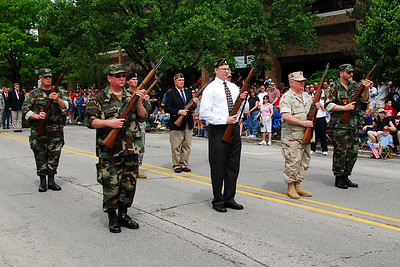 Memorial Day Parade - Naperville, Illinois - 2008
