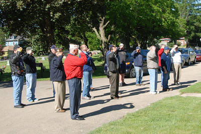 Memorial Day Activities - 2013 - Naperville, Illinois - Flag Laying Ceremony - Saints Peter & Paul Cemetery