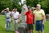 Memorial Day - Flag Placing Ceremony - Zion Lutheran Cemetery - 23720 W. Hassert Boulevard, Naperville, Illinois - May 26, 2016