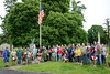 Memorial Day - Flag Placing Ceremony - St. Peter & Paul Cemetery - N. Columbia Street and E. North Avenue, Naperville, Illinois - May 27, 2016