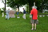 Memorial Day - Flag Placing Ceremony - Big Woods Cemetery - Eola Road, Naperville, Illinois - May 26, 2016