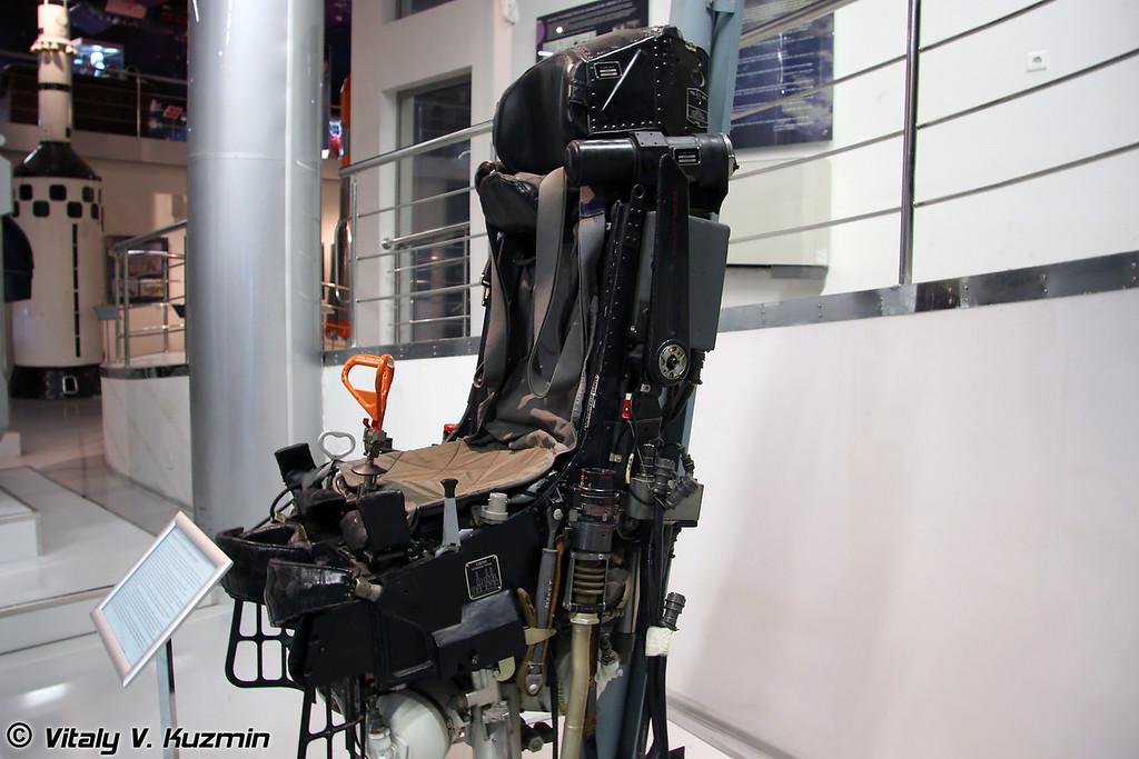 Катапультное кресло К-36РБ корабля Буран (Ejection seat K-36RB for Buran pilots)