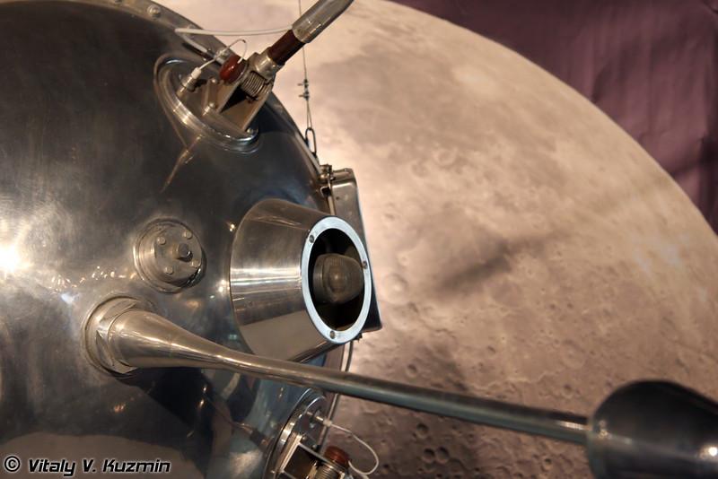 Автоматическая станция Луна-1. Запущена в районе Луны 2 января 1959г. (Luna-1 space station)