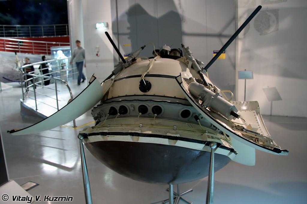 Спускаемый аппарат автоматической межпланетной станции Марс-3 (Mars-3 descent vehicle)
