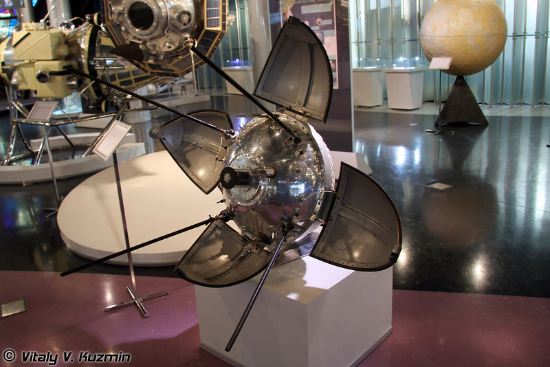 Спускаемый аппарат станции Луна-9 (Luna-9 station descent vehicle)
