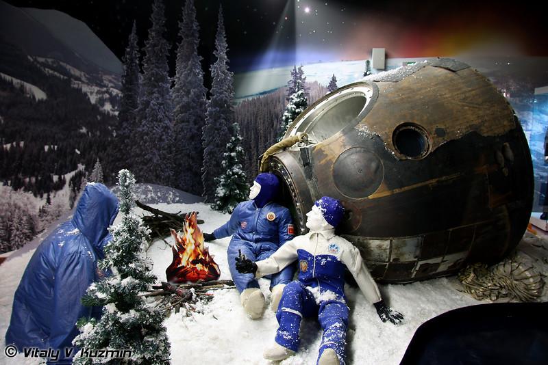 Спускаемый аппарат космического корабля СоюзТМ-7 (SoyuzTM-7 recovery capsule)