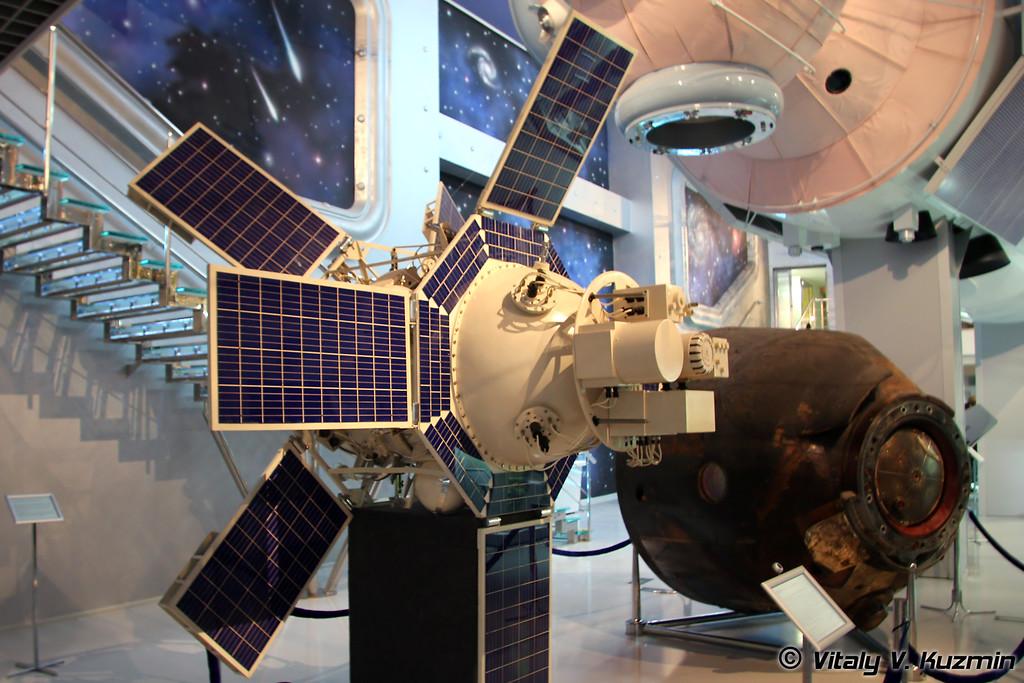 Искусственный спутник земли Интеркосмос-1. Запущен 14 октября 1969г. (Satellite Interkosmos-1. Launched October 14, 1969)