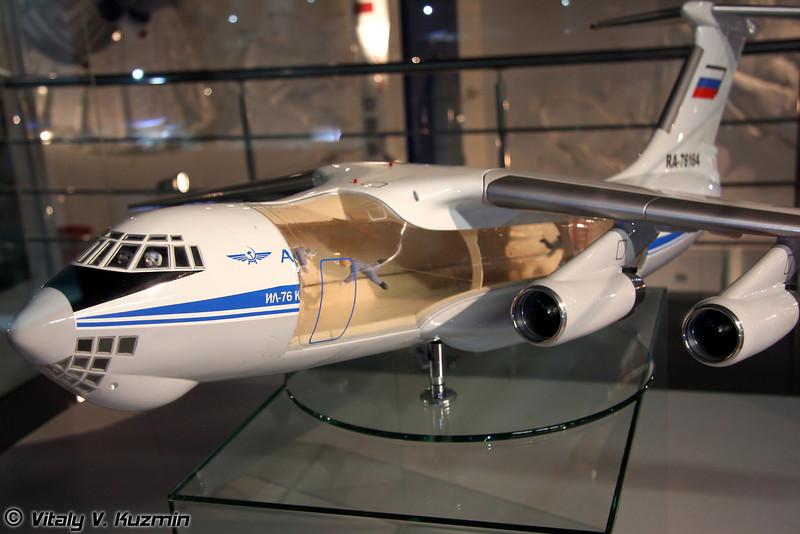 Самолет-лаборатория Ил-76 МДК (Flying lab IL-76 MDK)