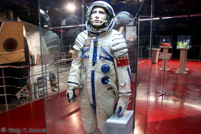 Спасательный скафандр Сокол-К (Sokol-K spacesuit)