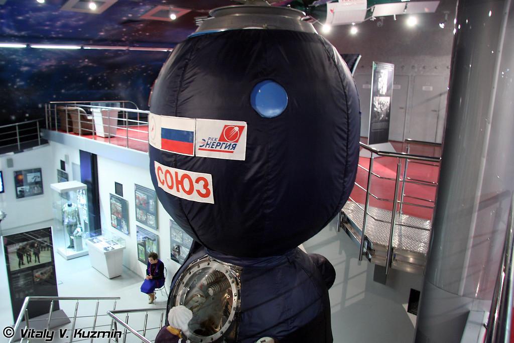 Транспортный пилотируемый космический корабль серии Союз (Space ship Soyuz)