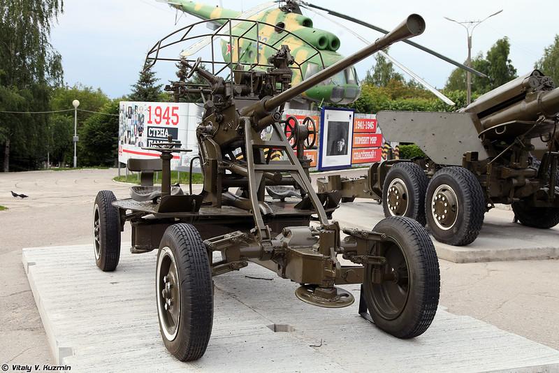 37-мм автоматическая зенитная пушка 61-к образца 1939 года (37mm automatic air defense gun 61-K M1939)