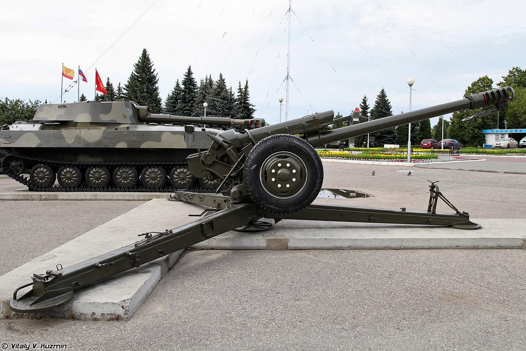 122-мм гаубица Д-30 (122mm howitzer D-30)