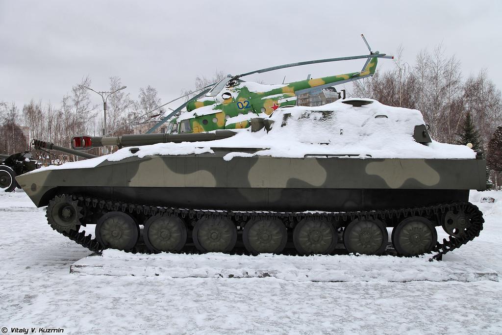 122-мм САУ 2С1 Гвоздика (122mm 2S1 Gvozdika)