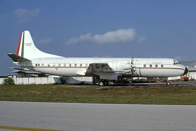UTAPEF (Fuerza Aerea Mexicana) Lockheed 188A Electra TP-04 (msn 1051) MIA (Bruce Drum). Image: 105354.