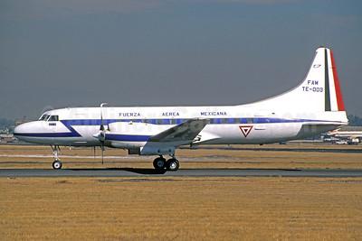 Fuerza Aerea Mexicana Convair 580 TE-003 (msn 455) MEX (Christian Volpati Collection). Image: 950859.