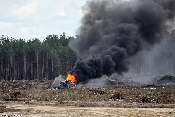 Mi-28 2nd August 2015 Dubrovichi accident