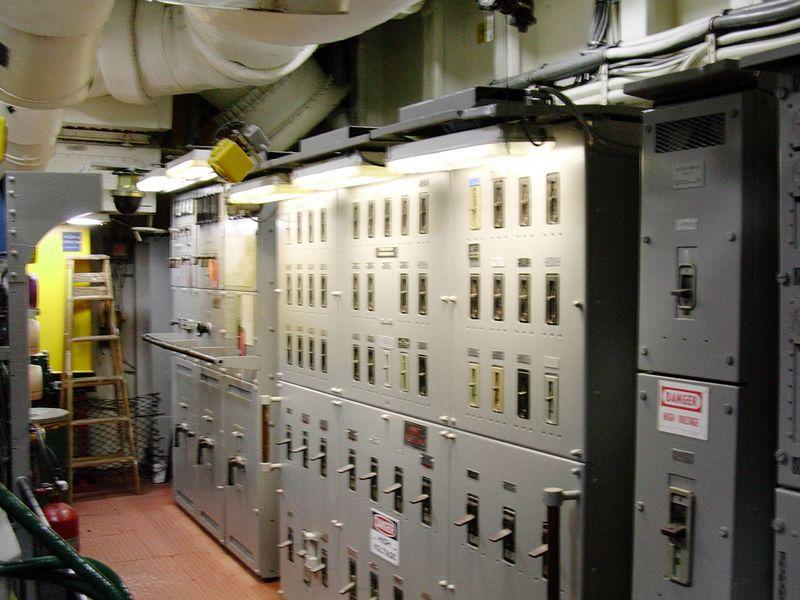 Electrical Panel for Emergency Diesel Generator