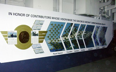 Panel honoring all levels of Donors