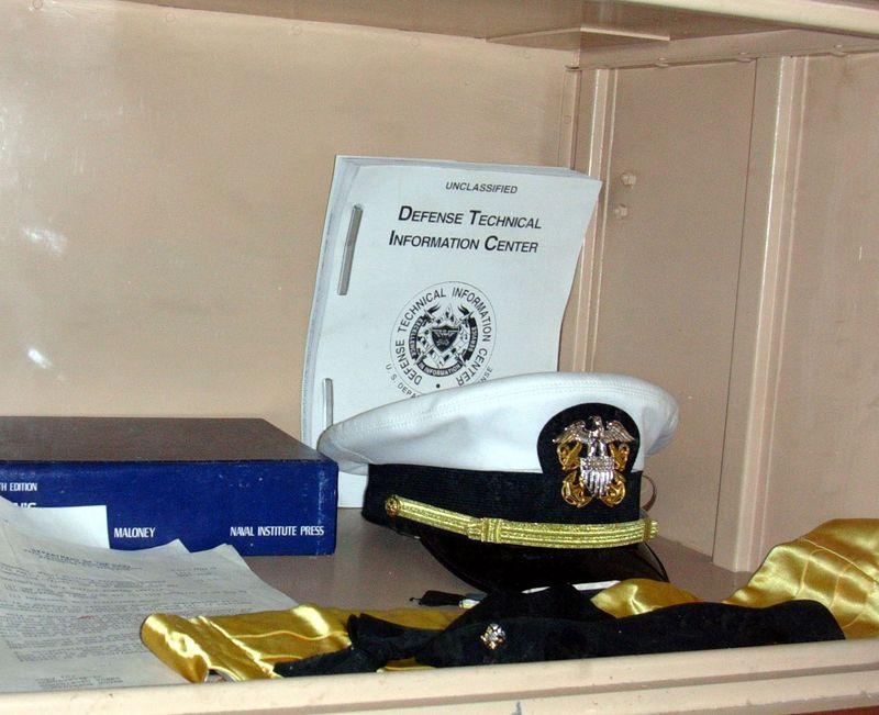 Jr. Officers Bunk Space Locker