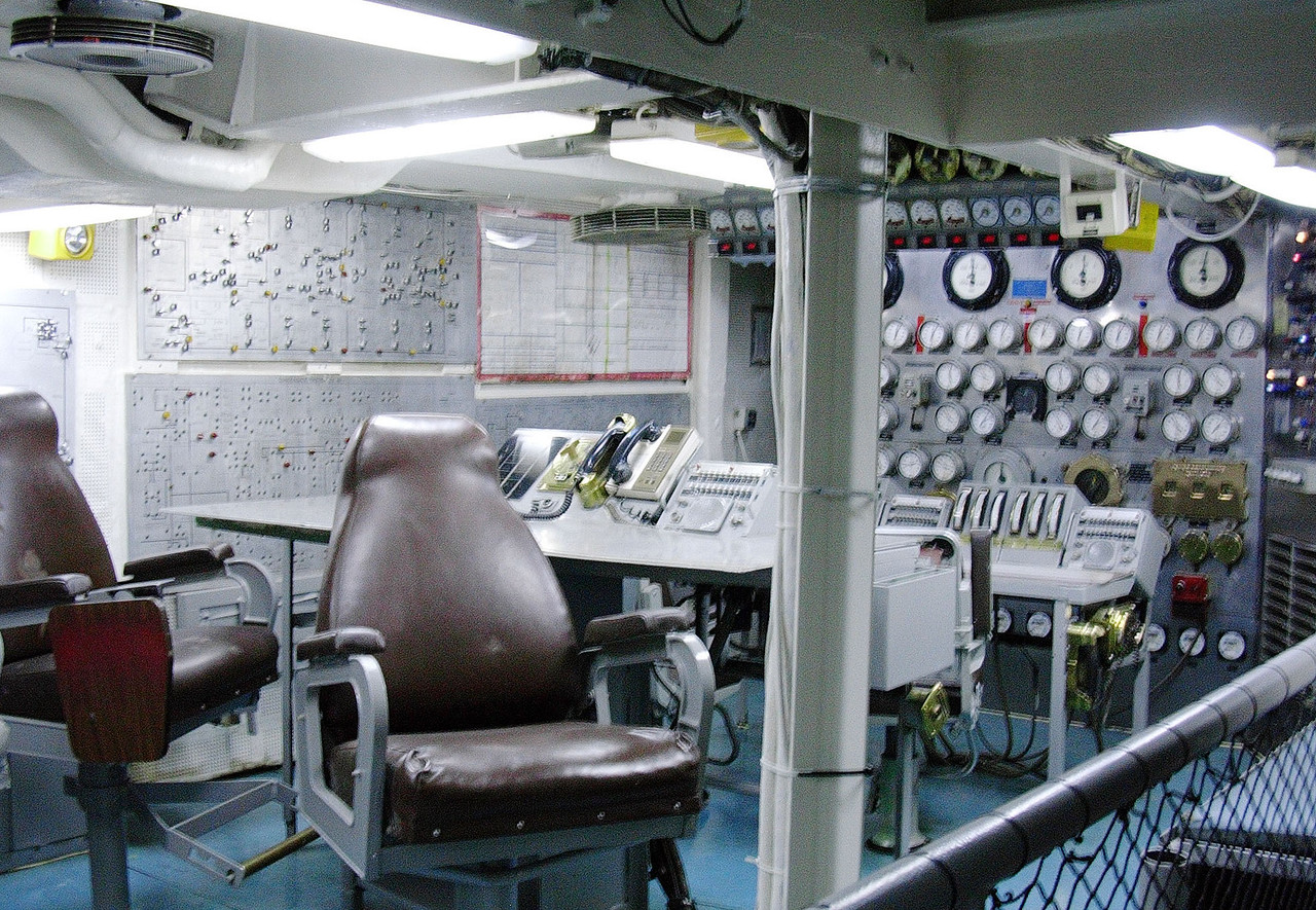 Main Engine Room Control Panel