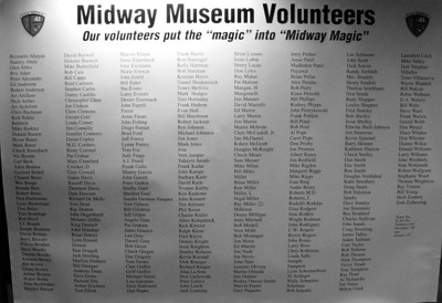 Midway Museum Volunteer Board 400+