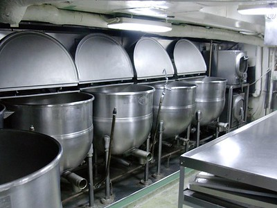 Cooking Pots for Galley