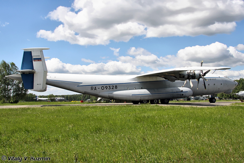 Ан-22 б/н RA-09328 (An-22 RA-09328 Black)