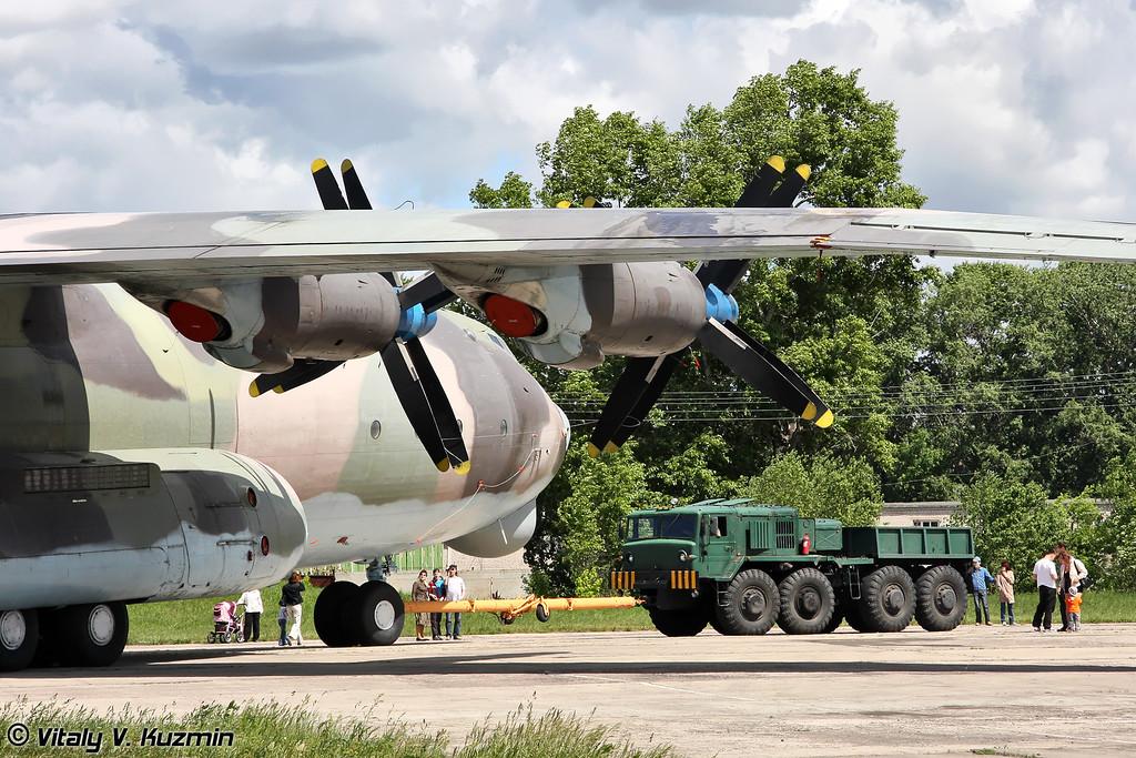 Ан-22 б/н RA-09309 (An-22 RA-09309 Black)