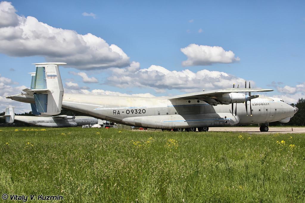 Ан-22 б/н RA-09320 (An-22 RA-09320 Black)