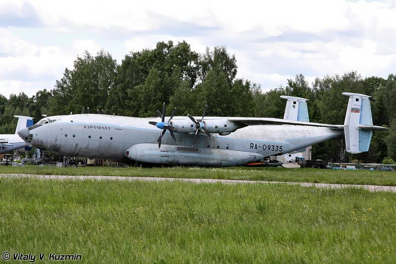 Ан-22 б/н RA-09335 (An-22 RA-09335 Black)