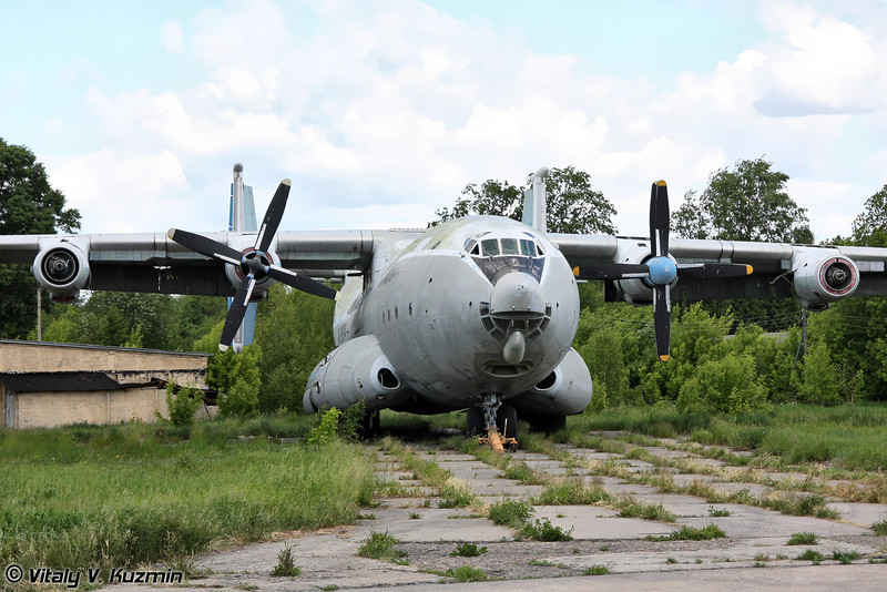 Ан-22 б/н RA-09314 (An-22 RA-09314 Black)