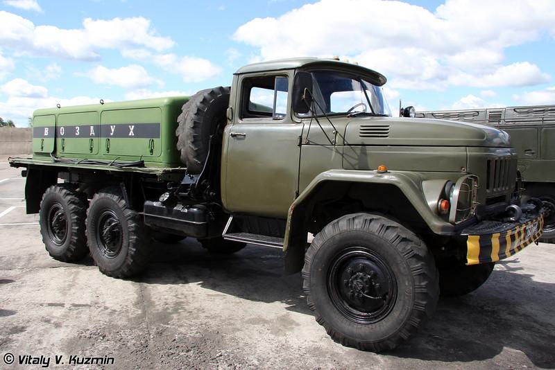 Воздухозаправщик ВЗ-20-350 (Air compressor vehicle VZ-20-350)