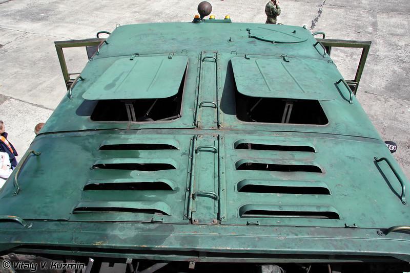Балластный тягач МАЗ-537 (Pushback vehicle MAZ-537)
