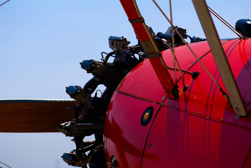 """Boeing-Stearman N2S-5 """"Stearman"""" (Kaydet)<br /> San Luis Obispo County Regional Airport, San Luis Obispo, California"""